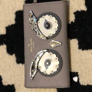 Kate spade cute owl wallet